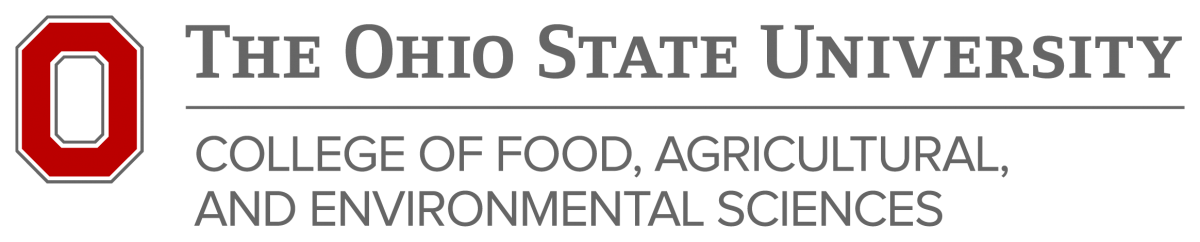 College of Food, Agricultural, and Environmental Sciences logo