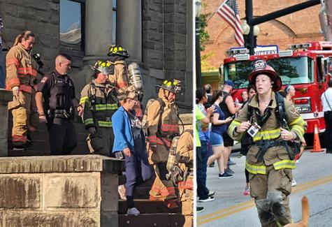CFAES Wooster Officers Participate in 9/11 Memorial Events